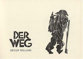 Detlef Willand : Der Weg (nach Santiago de Compostela) - Antiquariat Joseph Steutzger