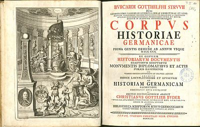 Struve : Corpus Historiae Germanicae