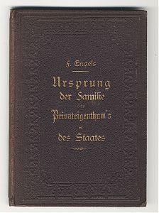 Friedrich Engels: Ursprung der Familie, 1884. EA. - Buch- und Kunst-Antiquariat Joseph Steutzger // www.steutzger.net