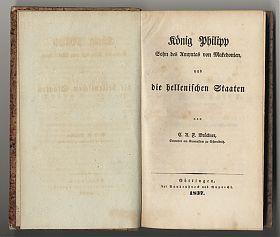 Brückner : König Philipp von Makedonien // Buchankauf Steutzger / München / www.steutzger.net
