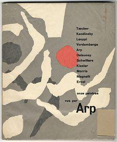 Hans Arp: onze peintres vus par Arp / Girsberger, Zürich, 1949 - Antiquariat Steutzger